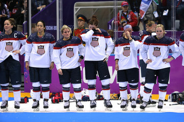 Meghan Duggan Ice Hockey - Winter Olympics Day 13