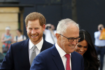 Meghan Markle Prince Harry And Ms. Meghan Markle Attend Invictus Games Reception  -  April 21, 2018