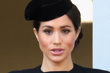 Meghan Markle Wreaths Are Laid At The Cenotaph On Remembrance Sunday