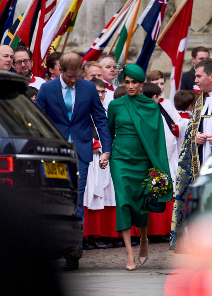 Commonwealth Day Service 2020 [event,uniform,flag,ceremony,tradition,gesture,military officer,crowd,harry,meghan,service,tradition,commonwealth,sussex,countries,duchess,duke of sussex,commonwealth day service,profession,tradition]