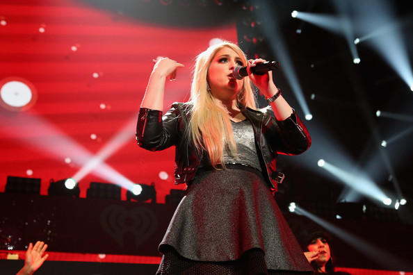KISS 108's Jingle Ball 2014 - Show [performance,entertainment,music artist,performing arts,music,singing,singer,song,stage,red,meghan trainor,boston,massachusetts,td garden,kiss 108,market basket supermarkets,jingle ball 2014 - show]