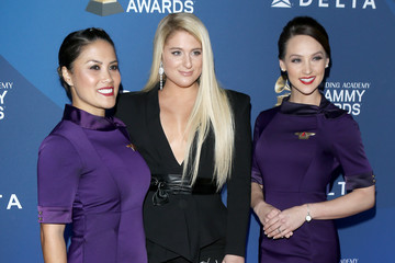 Meghan Trainor Delta Air Lines Celebrates 2019 GRAMMYs With Private Reception And Performance By Ella Mai