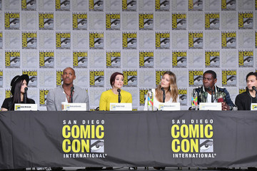Mehcad Brooks Jesse Rath Comic-Con International 2018 - 'Supergirl' Special Video Presentation And Q&A