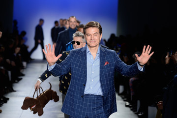 Mehmet Oz The Blue Jacket Fashion Show To Benefit the Prostate Cancer Foundation - Runway