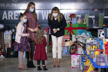 Melania Trump European Best Pictures Of The Day - December 09