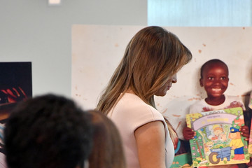 Melania Trump First Lady Melania Trump Hosts Reception For Attendees Of The United Nations