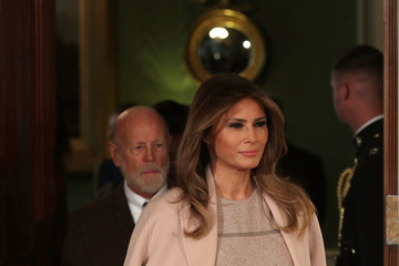 Melania Trump President and Melania Trump Introduce DHS Secretary Nominee Kirstjen Nielsen
