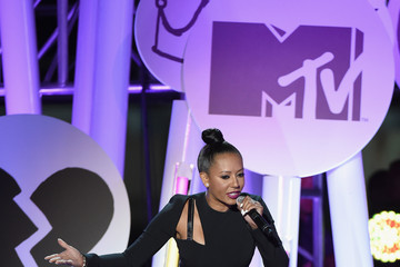 Melanie Brown Guests Attend the MTV Fandom Awards in San Diego