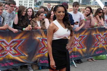 Melanie Brown 'The X Factor' Newcastle Auditions