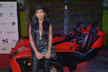 Melanie Fiona Polaris Slingshot at the Fifth Annual Mark Pitts Official BET Awards After Party
