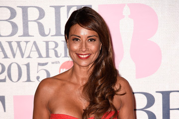 Melanie Sykes Arrivals at the BRIT Awards