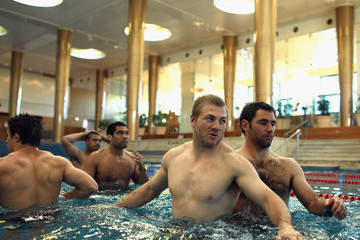 Cameron Smith Ryan Hinchcliffe Melbourne Storm Recovery Session