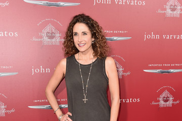 Melina Kanakaredes John Varvatos 13th Annual Stuart House Benefit Presented by Chrysler With Kids' Tent by Hasbro Studios - Arrivals