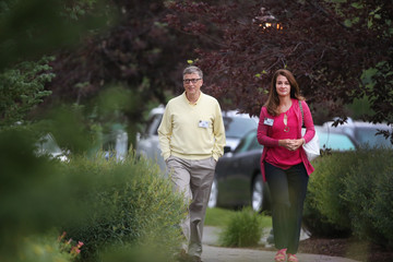 Melinda Gates Business Leaders Converge in Sun Valley, Idaho for the Allen and Company Annual Meeting