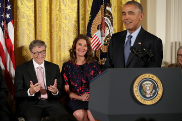 Melinda Gates Obama Honors 21 Americans With Presidential Medal of Freedom