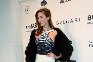 Melissa Bolona Arrivals at the amfAR New York Gala