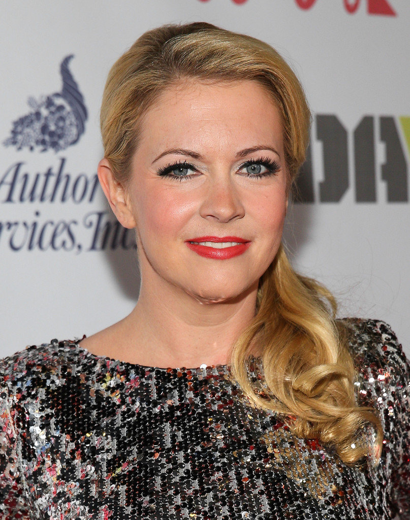 Holiday Office Party Beauty Courtesy of Melissa Joan Hart