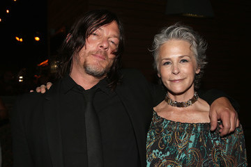 Melissa McBride 'The Walking Dead' 100th Premiere and Party