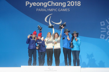 Melissa Perrine 2018 Paralympic Winter Games - Day 6