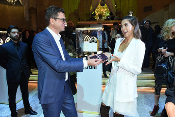 Melissa Satta Stroili Holy Gold Party