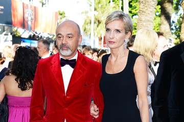 Melita Toscan du Plantier Christian Louboutin Celebs Hit the Red Carpet in Cannes