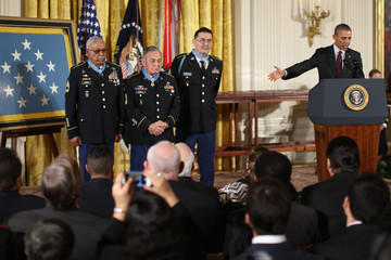Melvin Obama Awards 24 Medals Of Honor For Valor During WWII, Korean And Vietnam Wars