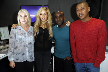 Melvin Odoom Ellie Goulding Visits Kiss FM