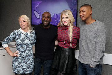 Melvin Odoom Meghan Trainor Visits Kiss FM