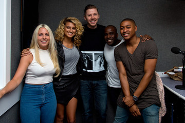 Melvin Odoom Professor Green Visits Kiss FM
