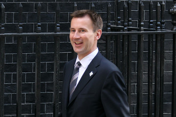 Jeremy Hunt Members Of The New Coalition Cabinet Attend Their First Cabinet Meeting