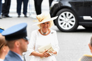 Camilla, Duchess of Cornwall attends as members of the Royal Family attend events to mark the centenary of the RAF on July 10, 2018 in London, England.