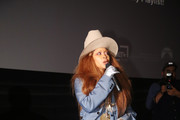 Erykah Badu speaks during the Dallas special screening of Paramount Pictures' film 'What Men Want' at  AMC North Park 15 on February 05, 2019 in Dallas, Texas.