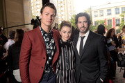 """(L-R) Actors Ansel Elgort, Kaitlyn Dever and Director/Co-Writer/Producer Jason Reitman attend the Gala Screening of Paramount Pictures' """"MEN, WOMEN,& CHILDREN"""" during the 2014 Toronto International Film Festival at Ryerson Theatre on September 6, 2014 in Toronto, Canada."""