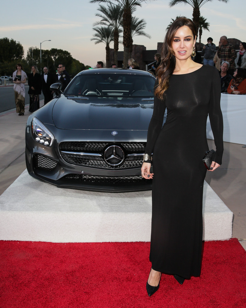 Berenice marlohe photos photos mercedes benz arrivals at for Mercedes benz of palm springs