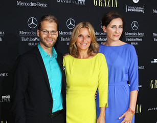 Claudia Ten Hoevel Mercedes-Benz Fashion Week Berlin Preview Show By Grazia - Red Carpet Arrivals