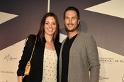 Actors Bianca Kajlich and Oliver Hudson arrive at Mercedes-Benz Transmission LA: AV CLUB Curated by Mike D at The Geffen Contemporary at MOCA on April 19, 2012 in Los Angeles, California.