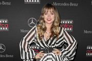 Actress Amanda Fuller attends Mercedes-Benz USA and African American Film Critics Association Academy Awards viewing party on February 22, 2015 in Los Angeles, California.