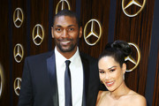 Metta World Peace (L) and Maya Ford attend the Mercedes-Benz USA Awards Viewing Party at Four Seasons Los Angeles at Beverly Hills on February 24, 2019 in Los Angeles, California.