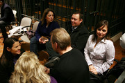 Edda Mellas (R), mother of Amanda Knox and her second husband Chris Mellas (2R) attend  the lawyer defense  closing speech of the Meredith Kercher murder trial  at the  Perugia courthouse on November 28, 2009 in Perugia, Italy. Amanda Knox and her former Italian boyfriend Raffaele Sollecito have been charged with the murder of British student Meredith Kercher on November 1, 2007 in Italy.Sentencing is scheduled for next weekend.