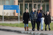 The parents, sister and stepsisters of Amanda Knox leave Perugia Prison after visiting her on December 5, 2009 in Perugia, Italy. Amanda Knox and her former Italian boyfriend Raffaele Sollecito were found guilty of the murder of British student Meredith Kercher in Perugia on November 1, 2007 and given sentences of 26 years and 25 years respectively.