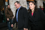Edda Mellas (R), mother of U.S. student Amanda Knox, walks with her husband Chris Mellas as they arrive at  the Perugia courthouse for the civil parties summing up of Knox's murder trial  on November 27, 2009 in Perugia, Italy. Amanda Knox and her former Italian boyfriend Raffaele Sollecito are charged with murdering British student Meredith Kercher on November 1, 2007 in Italy.