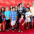 Caitlin Carmichae Photos - (L-R) Actors Joelle Better, Emmy Perry, Jake Brennan, Izzy Eggerling, Jacob Guenther, Caitlin Carmichael, Briana Renee, Joey Luthman, Laya Hayes, Aedin Mincks, and musician Will Ovid pose with the Demi Lovato Wax Figure (C) during Merlin's Magic Wand Children's Charity and Madame Tussauds Hollywood welcome children for a magical day out at Madame Tussauds on September 26, 2015 in Hollywood, California. - Merlin's Magic Wand Children's Charity And Madame Tussauds Hollywood Welcome Children For A Magical Day Out