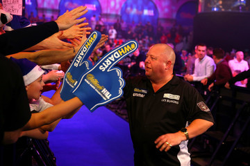 Mervyn King 2017 William Hill PDC World Darts Championships - Day Five