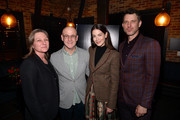 Cindy Holland, Peter Friedlander, Michelle Monaghan and Will Traval attend the 'Messiah' Los Angeles Press Mixer at The Shelby on December 12, 2019 in Los Angeles, California.
