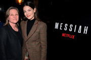 Cindy Holland and Michelle Monaghan attend the 'Messiah' Los Angeles Press Mixer at The Shelby on December 12, 2019 in Los Angeles, California.
