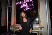 In this handout provided by Messika, Bob Sinclar attends the Messika cocktail as part of the Paris Fashion Week Womenswear  Spring/Summer 2018 on September 27, 2017 in Paris, France.