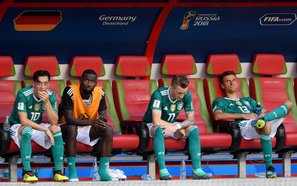 Korea Republic Vs. Germany: Group F - 2018 FIFA World Cup Russia [red,team,world,crew,players,sides,russia,germany,kazan arena,korea republic,group,korea republic vs. germany: group f - 2018 fifa world cup,match,2018 fifa world cup]