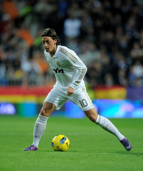 Liga Bbva In This Photo Mesut Ozil Mesut Ozil Of Real Madrid In Action