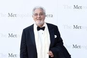 """Placido Domingo attends the Met Opera 2016-2017 Season Opening Performance of """"Tristan Und Isolde"""" at The Metropolitan Opera House on September 26, 2016 in New York City."""