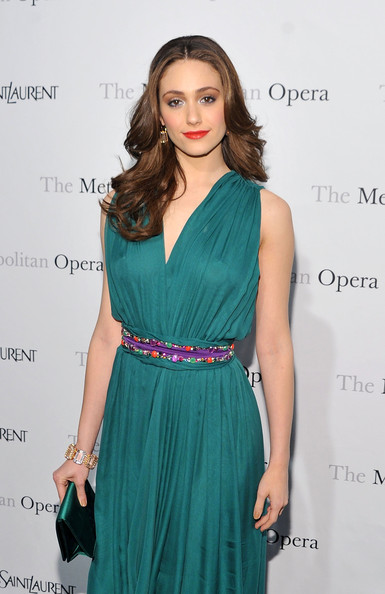 "Actress Emmy Rossum attends the Metropolitan Opera's gala premiere of Rossini's ""Le Comte Ory""  at The Metropolitan Opera House on March 24, 2011 in New York City."